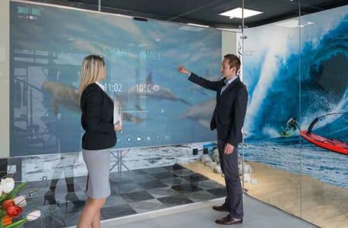 Interaktywna ścianka Smart-i-Wall 3