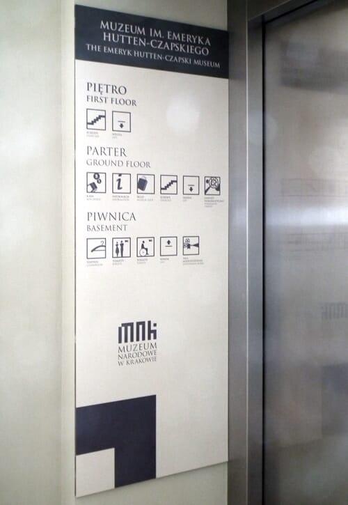 Oznakowanie muzeów 4