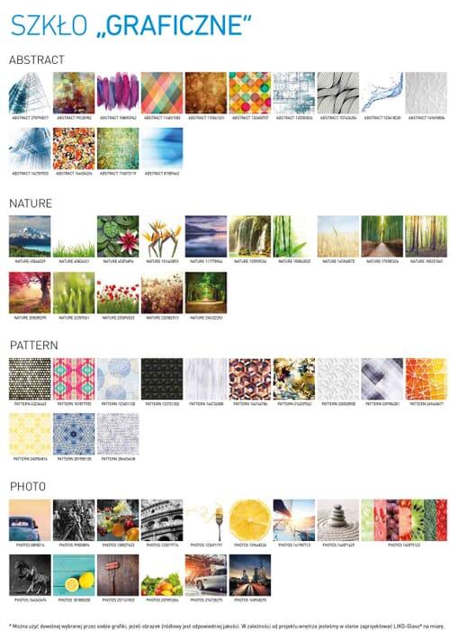 Szyby laminowane, z laminatami z grafiką lub z kolorowymi foliami 7