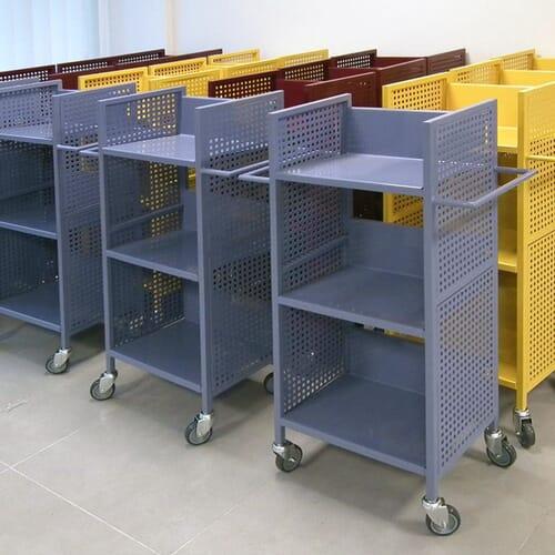 Wózki biblioteczne 4
