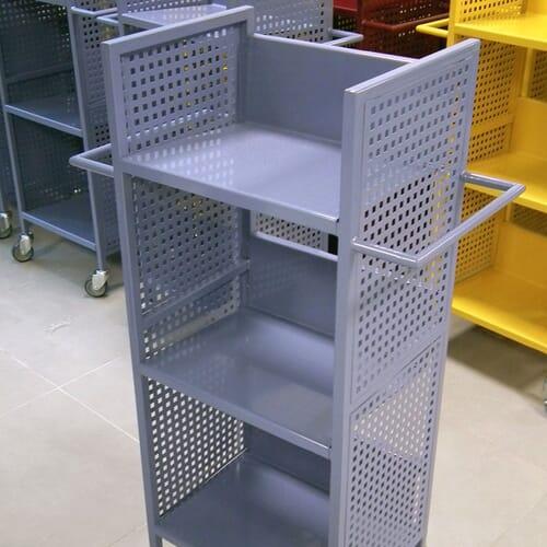 Wózki biblioteczne 3